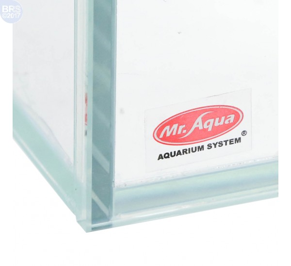 22 Gallon Exquisite Rimless Tank - Low Iron Glass - Mr. Aqua