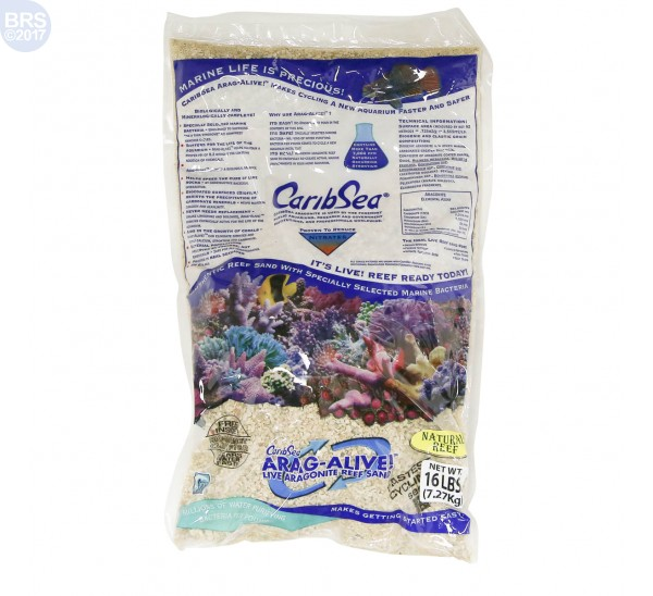 Natural Reef Arag-Alive! Live Sand - Title