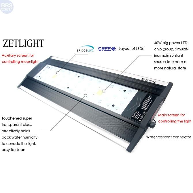 zt 6800a qmaven series led light zetlight bulk reef supply. Black Bedroom Furniture Sets. Home Design Ideas