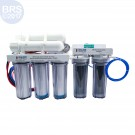 BRS 6 Stage Universal Water Saver Plus RO/DI System - 150GPD (RO/DI) - Front View