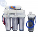 BRS 6 Stage Drinking & Reef RO/DI System - 75GPD (RO/DI)