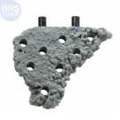 Grey Nano Corner Shelf Magnetic Frag Rack - Reef Rax