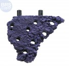 Purple Nano Corner Magnetic Frag Rack - Reef Rax