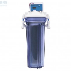 Single Deionization Canister with DM-1 Dual TDS Meter - Bulk Reef Supply