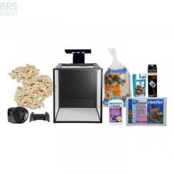 Nuvo Fusion 10 Gallon Saltwater Aquarium Kit with SKKYE LED