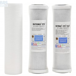 Matrikx 4 Stage RO (no DI) Replacement Filter Kit