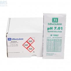 Milwaukee pH Calibration Fluid - Box of 25 Single Use Packets