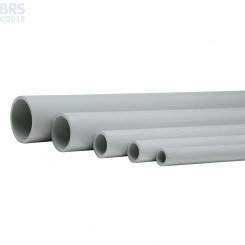 Grey Furniture Grade Schedule 40 Pipe (5 ft)