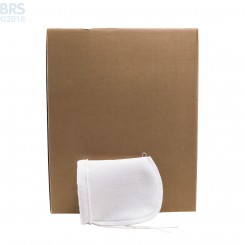 "Case (100) 4"" x 8"" BRS Felt Filter Sock with Draw String"