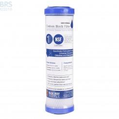 Universal Carbon Block Filter - 1 Micron