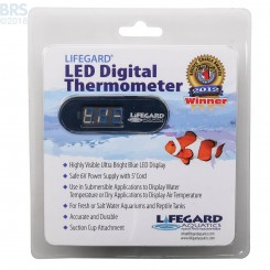 LED Digital Thermometer - Lifegard (Discontinued)