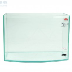 3 Gallon Rimless Bow Front Aquarium - Mr. Aqua