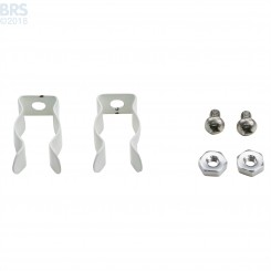 Miro-4 T5 Reflector Bulb Clips (Pair) - LET Lighting