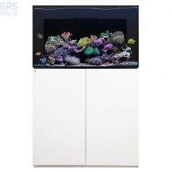 100.3 Aquarium Kit with White Cabinet Stand (74 Gallon) - Waterbox (DISCONTINUED)