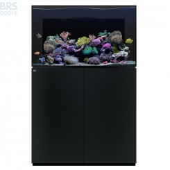 100.3 Aquarium Kit with Black Cabinet Stand (74 Gallon) - Waterbox (DISCONTINUED)