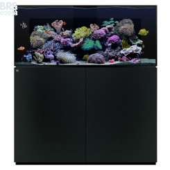 135.4 Aquarium Kit with Black Cabinet Stand (98 Gallon) - Waterbox (DISCONTINUED)
