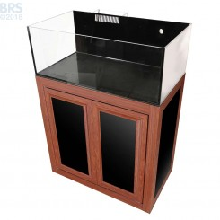 Nuvo EXT 30 Long Aquarium with Wood APS Stand