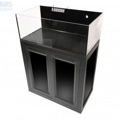 Nuvo EXT 30 Long Aquarium with Black APS Stand