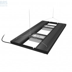 "36"" Hybrid T5HO 4x39W Fixture with LED Mounting System"