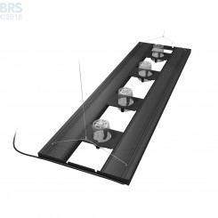 "60"" Hybrid T5HO 4x80W Fixture with LED Mounting System"