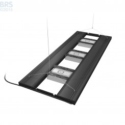 "48"" Hybrid T5HO 4x54W Fixture with LED Mounting System"