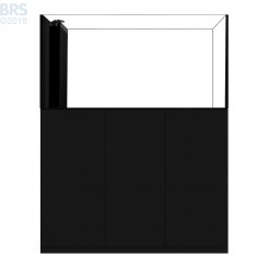 5526 Crystal Peninsula System with Black Cabinet (130 Gallon)