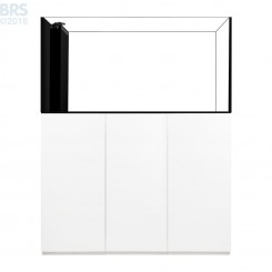 5526 Crystal Peninsula System with White Cabinet (130 Gallon)