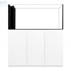 6026 Crystal Peninsula System with White Cabinet (141 Gallon)