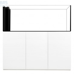 7226 Crystal Peninsula System with White Cabinet (169 Gallon)