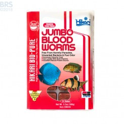 Bio-Pure Frozen Jumbo Blood Worms - Hikari