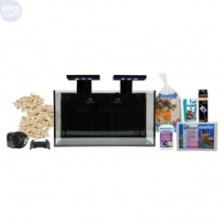 Nuvo Fusion 20 Gallon Saltwater Aquarium Kit with SKKYE LED