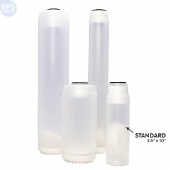 Clear Refillable Cartridge for DI Resin