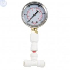 Glycerin Filled Pressure Gauge 1-100 PSI