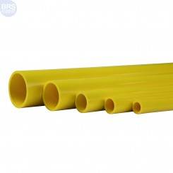 Yellow Schedule 40 Pipe (58 Inch)