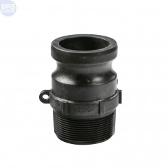 Male Thread Cam Lever Quick Connect Adapter - F