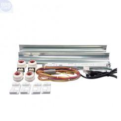 5 Ft 2 x 80 Watt T5 HO Miro-4 Retrofit Kit - LET Lighting (OPEN BOX)