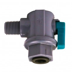 RO Elbow Ball Valve - NPT x Push Connect (DISCONTINUED)