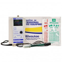 MW101 pH Meter w/Battery - Milwaukee