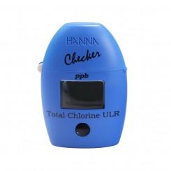 Total Chlorine Ultra Low Range Colorimeter HI761 Hanna Checker - Fresh Water