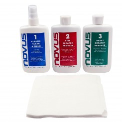 Plastic & Acrylic Polish Kit - 8 oz