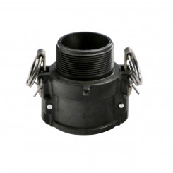Male Thread Cam Lever Quick Connect Coupling - B