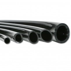 Black Vinyl Tubing Sold by the Foot