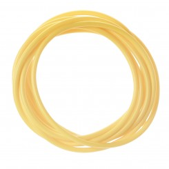 Yellow Colour-Tracer Silicone Tubing
