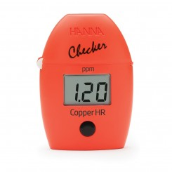 Copper High Range Colorimeter HI702 Hanna Checker