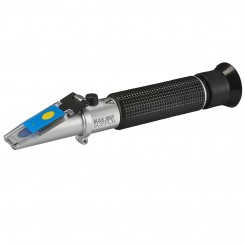 LED Refractometer for Reading Salinity with Calibration Fluid