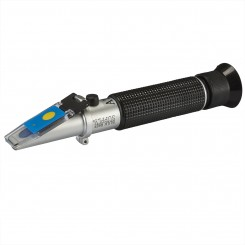 LED Refractometer for Reading Salinity with Calibration Fluid (FACTORY BLEMISH)