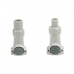 Barb X Anti-Drip Push-Lock Coupling