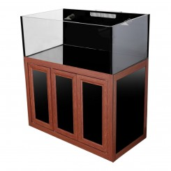 Nuvo EXT 100 Aquarium with Wood APS Stand