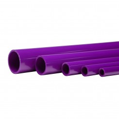 "46"" Violet Schedule 40 Pipe"