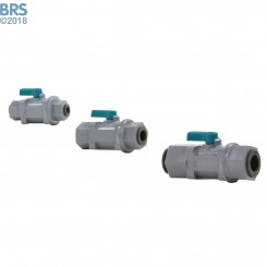 Mur-lok RO Inline Ball Valve Push Connect